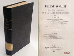 Hygiène scolaire,  A. Riant., Hachette, 1880 (Kean105) Tags: école scolaire santé hygiène vieuxlivres livresanciens antiquebooks enseignement education