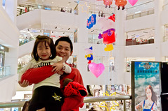 20161127-TAIMALL (violin6918) Tags: sony nex nex6 sonynex6 violin6918 taiwan taoyuan sigma sigma19mmf28dn taimall  cute lovely baby girl family portrait kid daughter littlebaby angel children child pretty princess vina