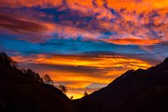 morgenrot (bernd.kranabetter) Tags: lend morgenrot himmel wolken fhn