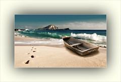 BARCA VARADA (Angelines3) Tags: nwn barca playa mar