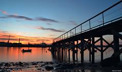 San Balandrn (blancaelena_muizmartinez) Tags: atardecer sunset asturias agua spain water sky