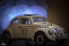 Beetle - Macro Monday (CamraMan.) Tags: beetle herbie vw 53 macromondays volkswagen macro toycar tamron90mm canon6d tripod camraman davidliddle bokeh mm beatles car hmm lovebug beatlesbeetles toy