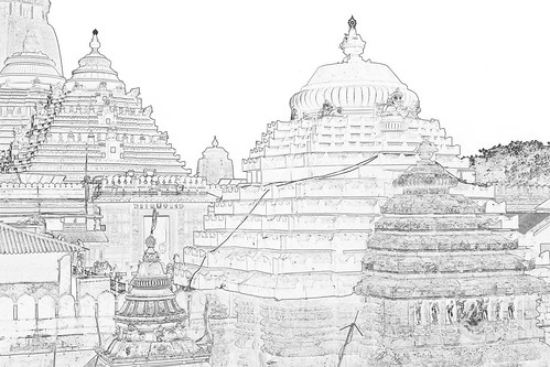 India - Odisha - Puri - Jagannath Temple - 14c