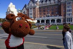 DSC00491 (The Crochet Crowd) Tags: crochetmoose amigurumi moose crochet doll alaska britishcolumbia thecrochetcrowd michaelsellick jeannesteinhilber danielzondervan crochetcruise mooseontheloose