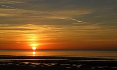 Blackpool Sunset (Eddie Crutchley) Tags: europe england lancashire blackpool nature beauty coast sunlight sunset outdoor sea seashore beach simplysuperb greatphotographers