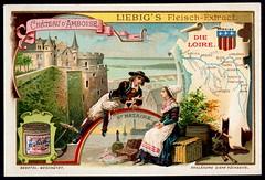 Liebig Tradecard S733 - The Loire (cigcardpix) Tags: tradecards advertising ephemera vintage chromo liebig france