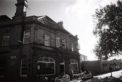 14 The Garden Gate, Hunslet, Leeds (I  Minox) Tags: film 2016 olympusom1n om1n om1 olympusom1 om1072 tmax kodaktmax100 kodak tmax100 100asa monochrome gardengate gardengatehunslet hunslet leeds yorkshire westyorkshire pub publichouse