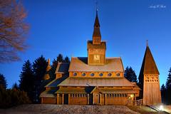 Stabkirche Hahnenklee (AndyW Harz) Tags: kirche harz deutschland germany hahnenklee