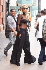 Rita Ora Flashes Major Cleavage in Racy Sheer Black Top (synergywebdesigners) Tags: news rita ora cleavage flashes ritaora filmychat