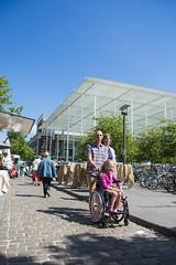 Exploring Antwerp (VISITFLANDERS) Tags: europe belgium wheelchair antwerp parc flanders accessibility artcity visitflanders