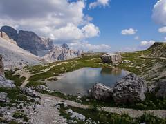 Little lake in the Dolomiti (stedeba) Tags: di tre dolomiti drei cime zinnen lavaredo
