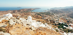 View from the Chora (The Hobbit Hole) Tags: nikon sailing greece cyclades 1224f4 d700