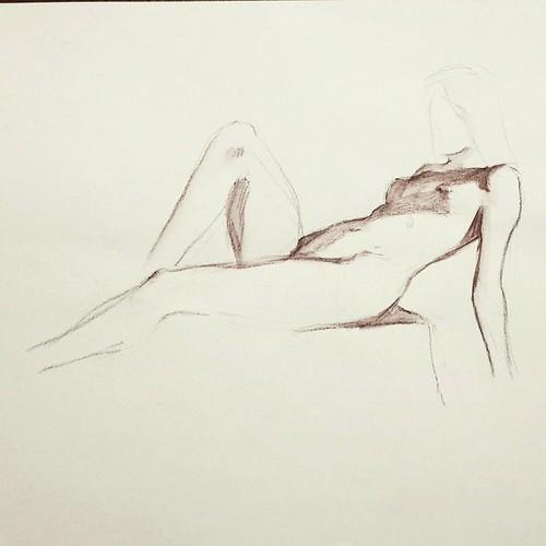 На drink&draw 5 min. Акварельный карандаш + waterbrush