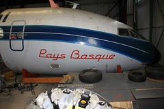 "Sud Est SE 210 Caravelle III n 148 ~ F-BJTO ""Pays Basque"" (Aero.passion DBC-1) Tags: museum plane aircraft aviation muse preserved lbg avion airmuseum sud est bourget airspacemuseum caravelle se210 aeropassion musedelair dbc1 prserv"