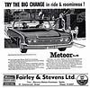 1960 Meteor Montcalm Four-Door Hardtop (aldenjewell) Tags: door canada hardtop nova four newspaper mercury ad stevens scotia ltd dartmouth meteor 1960 fontenac montcalm fairley