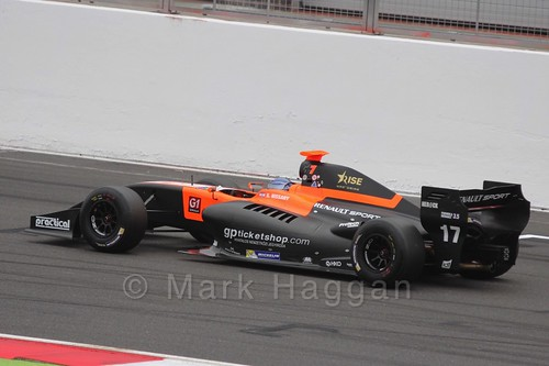 Roy Nissany on the Grid for the Formula Renault 3.5 Saturday Race at Silverstone