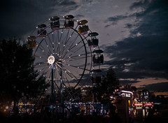 Sunset MN State Fair (Robb Henry) Tags: laborday mnstatefair 2015