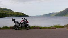 2014 R1200GS, Fort Augustus (BrianReid) Tags: lumix fort bmw loch gs augustus ness motorrad r1200 gx1