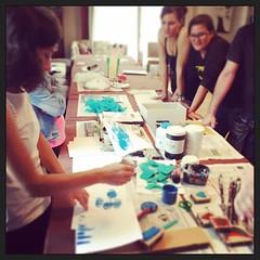 """L'arte scuote dall'anima la polvere accumulata nella vita di tutti i giorni. (Pablo Picasso) #arte e #formazione #outdoorexperience #experientiallearning #training • <a style=""""font-size:0.8em;"""" href=""""http://www.flickr.com/photos/96907830@N02/21299489669/"""" target=""""_blank"""">View on Flickr</a>"""