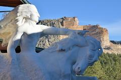 Crazy Horse Memorial (jpellgen) Tags: travel autumn usa fall monument southdakota blackhills america nikon october memorial sigma nativeamerican sd crazyhorse 2015 korczakziolkowski 1770mm d7000