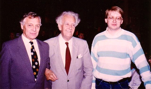 1987 - Roland Cobb, Harry Mortimer och Olof