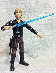 Custom test shot Luke (chevy2who) Tags: test black toy book promo shoot comic action shots luke figure series marvel skywalker yavin 334