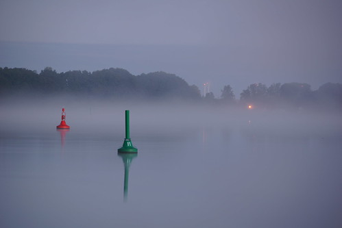 Buoys at dawn
