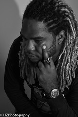 Vanessa and Mickal (Heidi Zech Photography) Tags: blackandwhite man dreadlocks portraits couple jamaica dread rasta blackandwhitephotography blackandwhiteportraits blackandwhitephotos jamaicanman