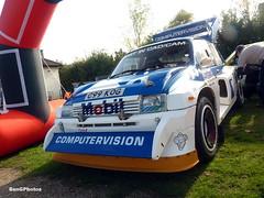 6R4 (BenGPhotos) Tags: show autumn sports car museum race day metro rally racing mg event british 1985 motorsport v6 brooklands 6r4 groupb rallying 2015 c99kog