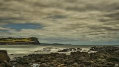 Lennox Head (BAN - photography) Tags: longexposure sea clouds rocks headlands byronbay lennoxhead brokenhead d810