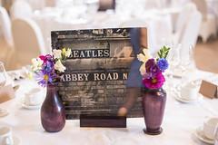 The Beatles (charlieleyaphotography) Tags: wedding thebeatles weddingphotography tabledecor thedetails secondshooting
