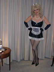 French Maid - Blonde (xgirltv1000) Tags: halloween french transformation tgirl transgender transgendered maid crossdresser crossdress mtf transformista transwomen