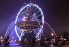 La roue tourne! (#Charlie Didier Bonnette Photographies) Tags: longexposure paris france circle le laconcorde rouedeparis fontainedesmers