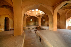 India - Telangana - Hyderabad - Qutb Shahi Heritage Park - The Mortuary Bath Of Sultan Quli I - 3 (asienman) Tags: india hyderabad tombs telangana asienmanphotography qutbshahiheritagepark