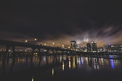 Good Evening RVA (Joey Wharton) Tags: city night landscape evening virginia cityscape richmond va rva