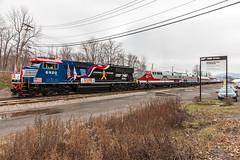 Binghamton Terminal (sullivan1985) Tags: ny newyork heritage train ns special amtrak veterans binghamton toysfortots norfolksouthern emd amtk honoringourveterans capitolregion sd60e ns027 ns6920 ns02705 binghamtonterminal