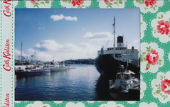 IMG_0001 Stockholm (spoeka) Tags: sea analog lomo lomography meer sweden stockholm harbour schweden instant analogue hafen cathkidston sofortbild fujiminiinstax instaxmini90neoclassic