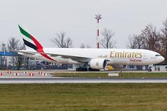 PERO8253 (Petar Meznarek) Tags: airport cargo emirates zagreb boeing luka gorica aerodrom b777 pleso velika zracna mzlz