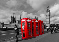 London Phone Boxes (snap happy2) Tags: red merit spc bbcc alteredreality commended