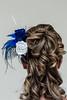 Tocado Boda (El Gato sobre el Tejado) Tags: wedding flores flower fashion rose boda moda feather rosa manualidades plumas peineta fascinator tocado ornamentalcomb