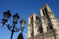 Notre-Dame de Paris (Sean Munson) Tags: light paris france church europe cathedral gothic unescoworldheritagesite worldheritagesite notredame notredamedeparis notredamecathedral frenchgothic banksoftheseine iledefrance iledelacite