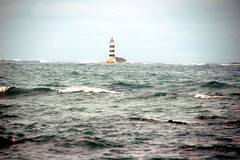 Lighthouse (EmperorNorton47) Tags: ocean africa morning autumn lighthouse fall digital photo jetty shore senegal ngor geoafrica