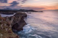 Costa Asturiana III. Asturias coast III (pitujrg) Tags: color asturias costa sunset coast atardecer colores bonitos beatifull sea mar cliff acantilados