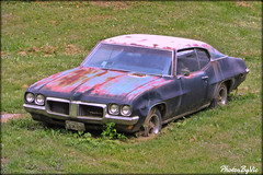 Pontiac Lemans (Photos By Vic) Tags: pontiac lemans rusty rust old virginia va