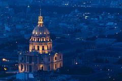 NH0A1390s (michael.soukup) Tags: paris france montparnasse lesinvalides dome bluehour arcdetriomphe arch architecture skyline cityscape sunset dusk city lights gold blue