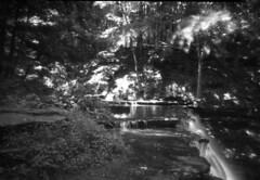 Cascade Falls (Superfluous Man) Tags: noonpinholecamera ilfordfp4125 mediumformat pinhole waterfall
