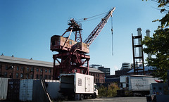 Brooklyn Navy Yard (neilsonabeel) Tags: leicam6 leica zeissbiogon rangefinder film analogue brooklyn newyorkcity