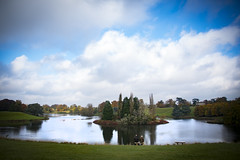 Solitude (69of365) (Reckless Times) Tags: landscape photo great lake belnheim palace park gardens autumn fall with cloudy blue sky solitude old couple view vista nikon d750 365 project churchil woodstock oxfordshire travel explore