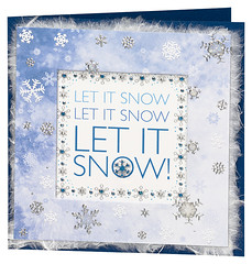 Craft Creations - Jenny239 (Craft Creations Ltd) Tags: letitsnow greetingcard craftcreations handmade cardmaking cards craft papercraft christmascardideas christmascard christmascardmaking cardmakingideas greetingcardmaking christmas xmas