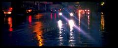 The bus home in the rain !  Mitcham 15/10/16. (Ledlon89) Tags: london bus buses transport tfl londonbus londonbuses rain mitcham weather lights nighttime cars traffic